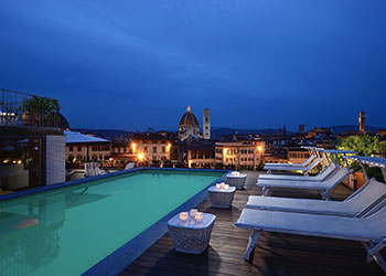 Head to Florentine rooftops for an aperitivo