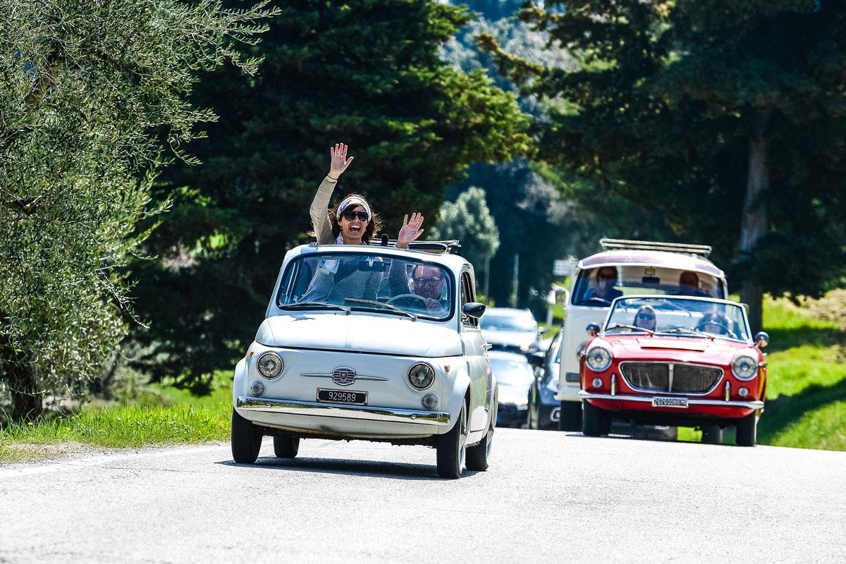 Fiat 500 Vintage And La Dolce Vita Destination Florence