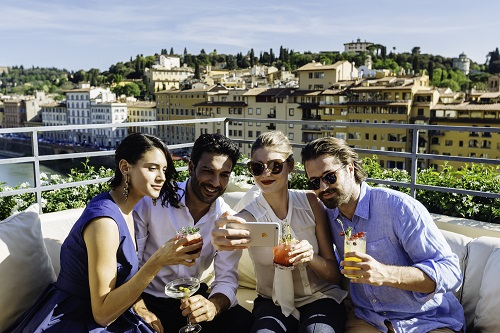 Drinks La Terrazza Rooftop Bar Destination Florence