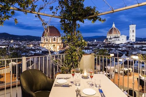 B Roof Restaurant Destination Florence
